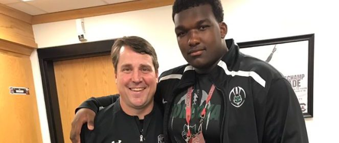 Interview 4 Star Tennessee 2018 Ol Jerome Carvin Updates South