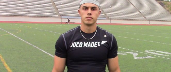 Interview with 2019 Cabrillo College WR Weston Kandarian
