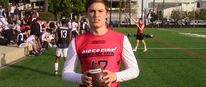 One to Watch Interview with 2021 Bakersfield QB Ricky