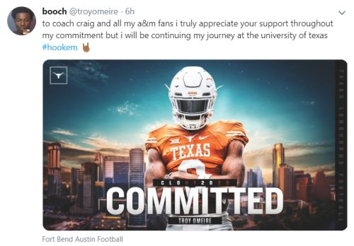 texas longhorns 2020 recruiting class